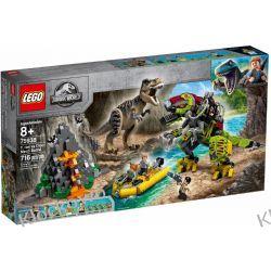 75938 TYRANOZAUR KONTRA MECHANICZNY DINOZAUR (T. rex vs Dino-Mech Battle) - KLOCKI LEGO JURASSIC WORLD Dla Dzieci