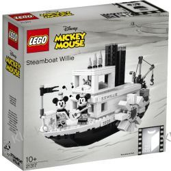 21317 PAROWIEC WILLIE (Steamboat Willie) KLOCKI LEGO IDEAS Atlantis