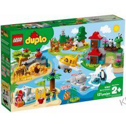 10907 ZWIERZĘTA ŚWIATA (World Animals) KLOCKI LEGO DUPLO Dla Dzieci