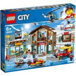 60203 KURORT NARCIARSKI (Ski Resort) KLOCKI LEGO CITY Dla Dzieci