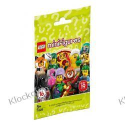 71025 - 1 SZT LOSOWO WYBRANEJ MINIFIGURKI -  19 SERIA LEGO MINIFIGURKI  Dla Dzieci