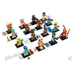 71025 MINIFIGURKI LEGO 19 SERIA -  KOMPLET 16 SZT