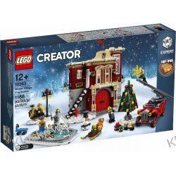 10263 REMIZA W ŚWIĄTECZNEJ WIOSCE (Winter Village Fire Station) - KLOCKI LEGO EXCLUSIVE Dla Dzieci