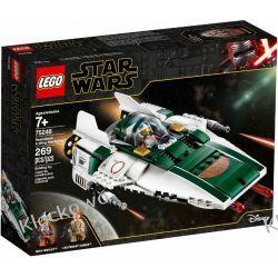 75248 MYŚLIWIEC A-WING RUCHU OPORU (Resistance A-wing Starfighter) - KLOCKI LEGO STAR WARS  Dla Dzieci