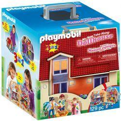 PLAYMOBIL 5167 NOWY PRZENOŚNY DOMEK DLA LALEK - DOLLHOUSE Playmobil