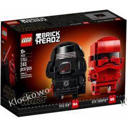 75232 KYLO REN™ i ŻOŁNIERZ SITHÓW (Kylo Ren & Sith Trooper) KLOCKI LEGO BRICKHEADZ  Dla Dzieci