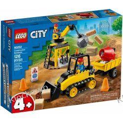 60252 BULDOŻER BUDOWLANY (Construction Bulldozer) KLOCKI LEGO CITY Playmobil