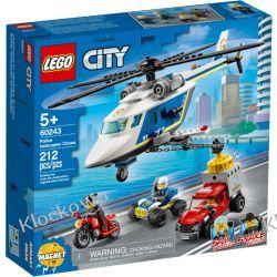 60243 POŚCIG HELIKOPTEREM POLICYJNYM (Police Helicopter Chase) KLOCKI LEGO CITY Miasto