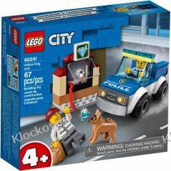 60241 ODDZIAŁ POLICYJNY Z PSEM (Police Dog Unit) KLOCKI LEGO CITY Dla Dzieci