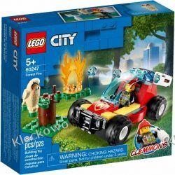 60247 POŻAR LASU (Forest Fire) KLOCKI LEGO CITY Dla Dzieci