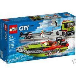 60254 TRANSPORTER ŁODZI WYŚCIGOWEJ (Race Boat Transporter) KLOCKI LEGO CITY Playmobil