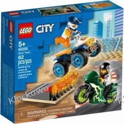 60255 EKIPA KASKADERÓW (Stunt Team) KLOCKI LEGO CITY Ninjago