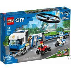 60244 LAWETA HELIKOPTERA POLICYJNEGO (Police Helicopter Transport) KLOCKI LEGO CITY Kompletne zestawy