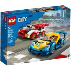 60256 SAMOCHODY WYŚCIGOWE (Racing Cars) KLOCKI LEGO CITY Dla Dzieci