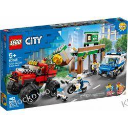60245 NAPAD Z MONSTER TRUCKIEM (Police Monster Truck Heist) KLOCKI LEGO CITY Dla Dzieci