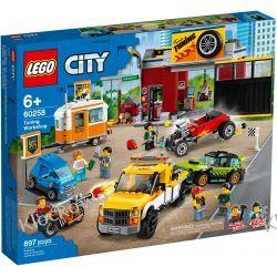 60258 WARSZTAT TUNINGOWY (Tuning Workshop) KLOCKI LEGO CITY Dla Dzieci