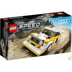 76897 Audi Sport Quattro S1 KLOCKI LEGO SPEED CHAMPIONS Racers