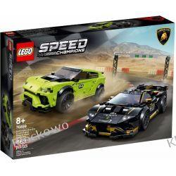 76899 Lamborghini Urus ST-X & Huracán Super Trofeo EVO KLOCKI LEGO SPEED CHAMPIONS Creator