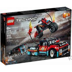 42106 FURGONETKA I MOTOCYKL KASKADERSKI (Stunt Show Truck & Bike) KLOCKI LEGO TECHNIC  Technic