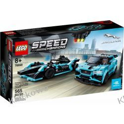 76898 Formula E Panasonic Jaguar Racing GEN2 Car & Jaguar I-PACE eTROPHY KLOCKI LEGO SPEED CHAMPIONS