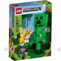 21156 BIGFIG — CREEPER I OCELOT (BigFig Creeper and Ocelot)- KLOCKI LEGO MINECRAFT