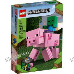 21157 MINECRAFT BIGFIG — ŚWINKA I MAŁY ZOMBIE (BigFig Pig with Baby Zombie)- KLOCKI LEGO MINECRAFT Kompletne zestawy