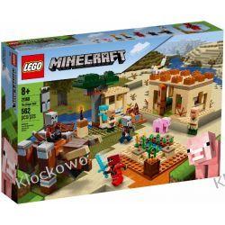21160 NAJAZD ZŁOSADNIKÓW (The Illager Raid)- KLOCKI LEGO MINECRAFT Playmobil
