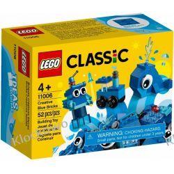 11006 NIEBIESKIE KLOCKI KREATYWNE (Creative Blue Bricks) KLOCKI LEGO CLASSIC Kompletne zestawy