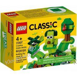 11007 ZIELONE  KLOCKI KREATYWNE (Creative Green Bricks) KLOCKI LEGO CLASSIC Kompletne zestawy