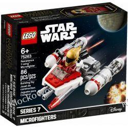 75263 MIKROMYŚLIWIEC Y-WING RUCHU OPORU (Resistance Y-wing Microfighter) - KLOCKI LEGO STAR WARS  Star Wars