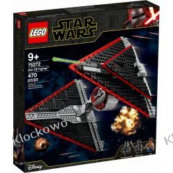 75272 MYŚLWIEC TIE SITHÓW™ (Sith TIE Fighter) - KLOCKI LEGO STAR WARS  Policja