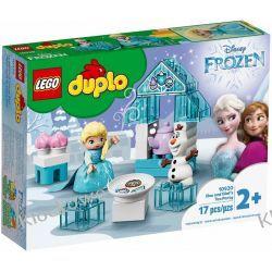 10920 POPOŁUDNIOWA HERBATKA U ELSY I OLAFA (Elsa and Olaf's Tea Party) KLOCKI LEGO DUPLO  Pociąg