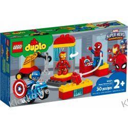 10921 LABORATORIUM SUPERBOHATERÓW (Super Heroes Lab) KLOCKI LEGO DUPLO  Kompletne zestawy