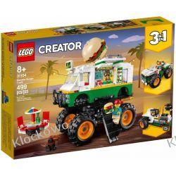 31104 MONSTER TRUCK Z BURGERAMI (Monster Burger Truck) KLOCKI LEGO CREATOR Kompletne zestawy