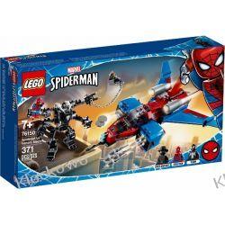 76150 PAJĘCZY ODRZUTOWIEC KONTRA MECH VENOMA (Spiderjet vs. Venom Mech) - KLOCKI LEGO SUPER HEROES