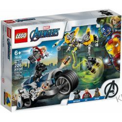 76142 AVENGERS WALKA NA MOTOCYKLU (Avengers Speeder Bike Attack) - KLOCKI LEGO SUPER HEROES Kompletne zestawy