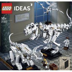 21320 SZKIELETY DINOZAURÓW (Dinosaur Fossils) KLOCKI LEGO IDEAS