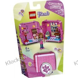 41407 KOSTKA OLIVII DO ZABAWY W SKLEP (Olivia's Play Cube - Sweet Shop) KLOCKI LEGO FRIENDS Playmobil