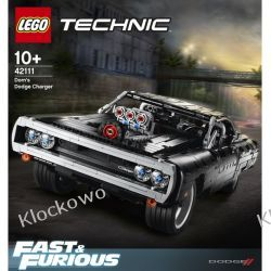42111 DOM'S DODGE CHARGER KLOCKI LEGO TECHNIC  Technic