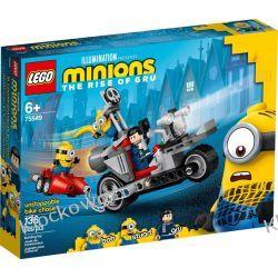 75549 NIEPOWSTRZYMANY MOTOCYKL UCIEKA (Unstoppable Bike Chase) - KLOCKI LEGO STAR WARS  Kompletne zestawy