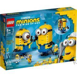 75551 MINIONKI Z KLOCKÓW I ICH GNIAZDO (Brick-built Minions and their Lair) - KLOCKI LEGO STAR WARS  Playmobil