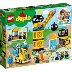 10932 ROZBIÓRKA KULĄ WYBURZENIOWĄ (Wrecking Ball Demolition) KLOCKI LEGO DUPLO