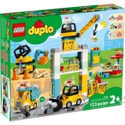 10933 ŻURAW WIEŻOWY I BUDOWA (Tower Crane & Construction) KLOCKI LEGO DUPLO