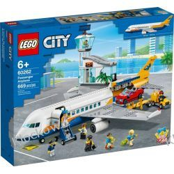 60262 SAMOLOT PASAŻERSKI (Passenger Aeroplane) KLOCKI LEGO CITY Dla Dzieci