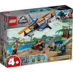 75942 WELOCIRAPTOR NA RATUNEK DWUPŁATOWCEM (Velociraptor: Biplane Rescue Mission) - KLOCKI LEGO JURASSIC WORLD Dla Dzieci