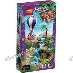 41423 BALONEM NA RATUNEK TYGRYSOWI (Tiger Hot Air Balloon Jungle Rescue) KLOCKI LEGO FRIENDS