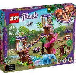 41424 BAZA RATOWNICZA (Jungle Rescue Base) KLOCKI LEGO FRIENDS Dla Dzieci