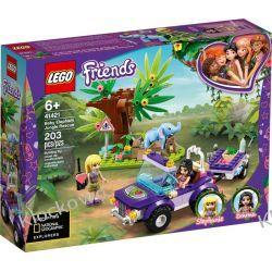 41421 NA RATUNEK SŁONIĄTKU (Baby Elephant Jungle Rescue) KLOCKI LEGO FRIENDS Kompletne zestawy