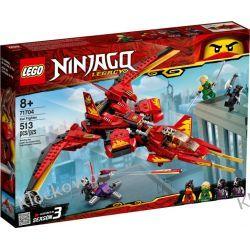 71704 POJAZD BOJOWY KAIA (Kai Fighter) KLOCKI LEGO NINJAGO Dla Dzieci