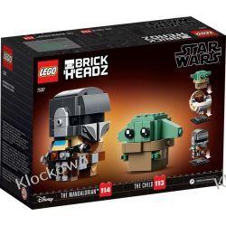 75317 MANDALORIANIN™ I DZIECKO (The Mandalorian & The Child) KLOCKI LEGO BRICKHEADZ  Kompletne zestawy